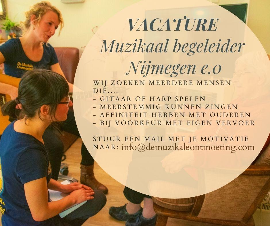 Muzikaal begeleider Nijmegen e.o